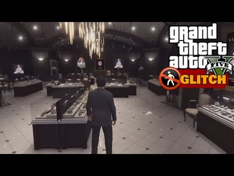 How To Get Into The Jewelry Store In Gta 5 Single Player Youtube