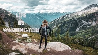 My Camp in Washington and Hiking the Maple Pass Loop Trail | North Cascades National Park