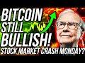 HUGE BITCOIN VOLATILITY! Time to buy XRP & Altcoins?! Stock Market CRASH MONDAY?! Crypto News!