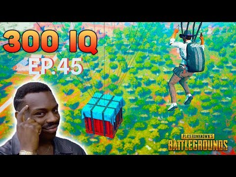 PUBG 300 IQ EPIC Plays Ep.45 🤖 PlayerUnknown's Battlegrounds Highlights