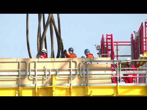 Scaldis offshore project video NSO by Live Media Brussels