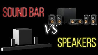 Sound Bar vs Speakers - Which One Is Best For You?