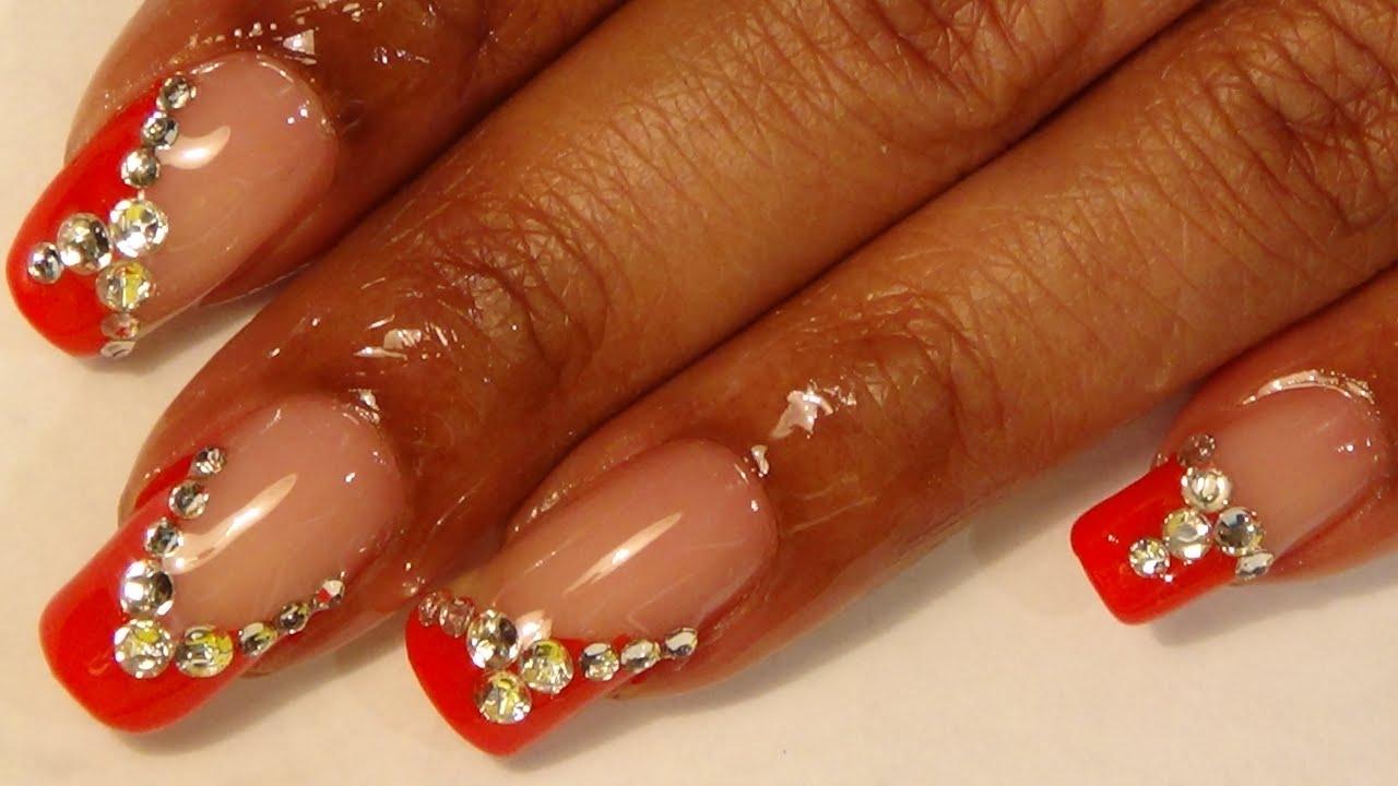 prom series #1 nail design & toe
