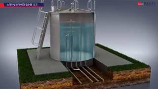 회전여과 입수관을 구비한 STS 물탱크 - 제품설명