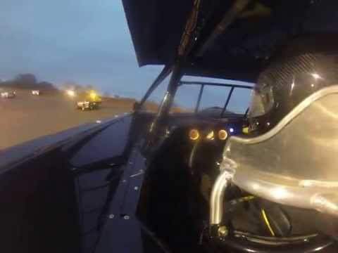 Cruz Skinner: 2015 Ice Bowl TST's Crate A Main Race (GoPro Left Shoulder Cam View)