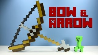 Minecraft Bow and Arrow Toy Launcher from Mattel...