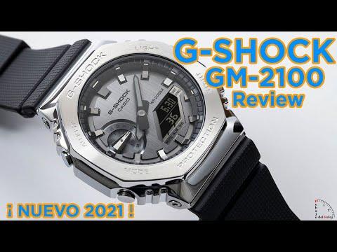 G Shock GM 2100 CasiOak Metálicos Detalles