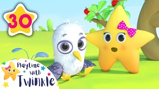 Twinkle Learns Fruits | Learning Videos for Toddlers | ABC 123 Colors & Shapes | Little Baby Bum