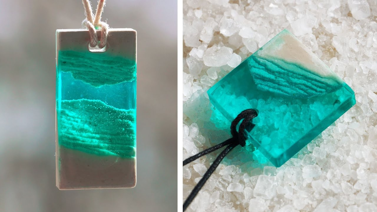 GYPSUM + EPOXY RESIN / PENDANTS MADE OUT OF AN EPOXY RESIN ...