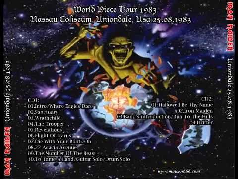 f632da5714 Iron Maiden - Live in Uniondale 1983 08 25 - YouTube