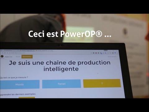 Présentation de la Dataswatool et de PowerOp au salon Smart Industries 2016