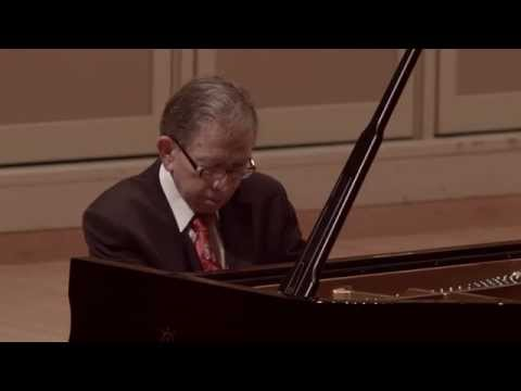 Edward Auer Workshop 2014: Jerome Lowenthal plays Debussy's Clair de lune