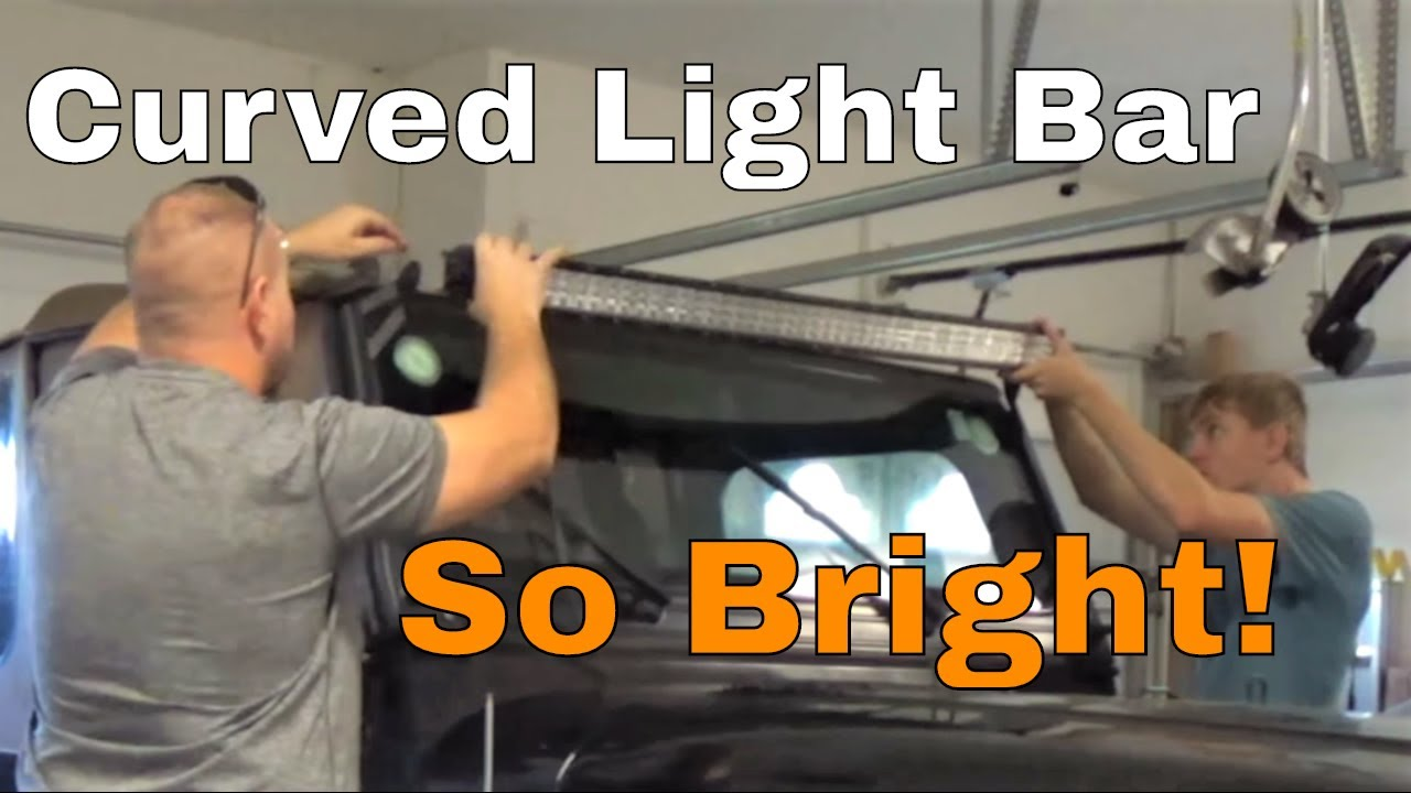 Review Tri Row Curved Led Light Bar 50 432w Of Spot Flood Power For All Your Offroad Needs Wiring Harness Dust Runners Lighting