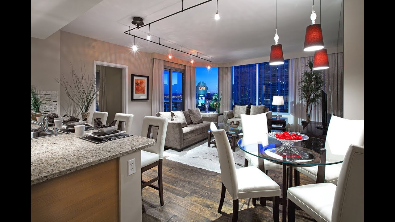 Luxurious Dining Rooms Inside A Luxury Las Vegas High Rise Condo At Turnberry