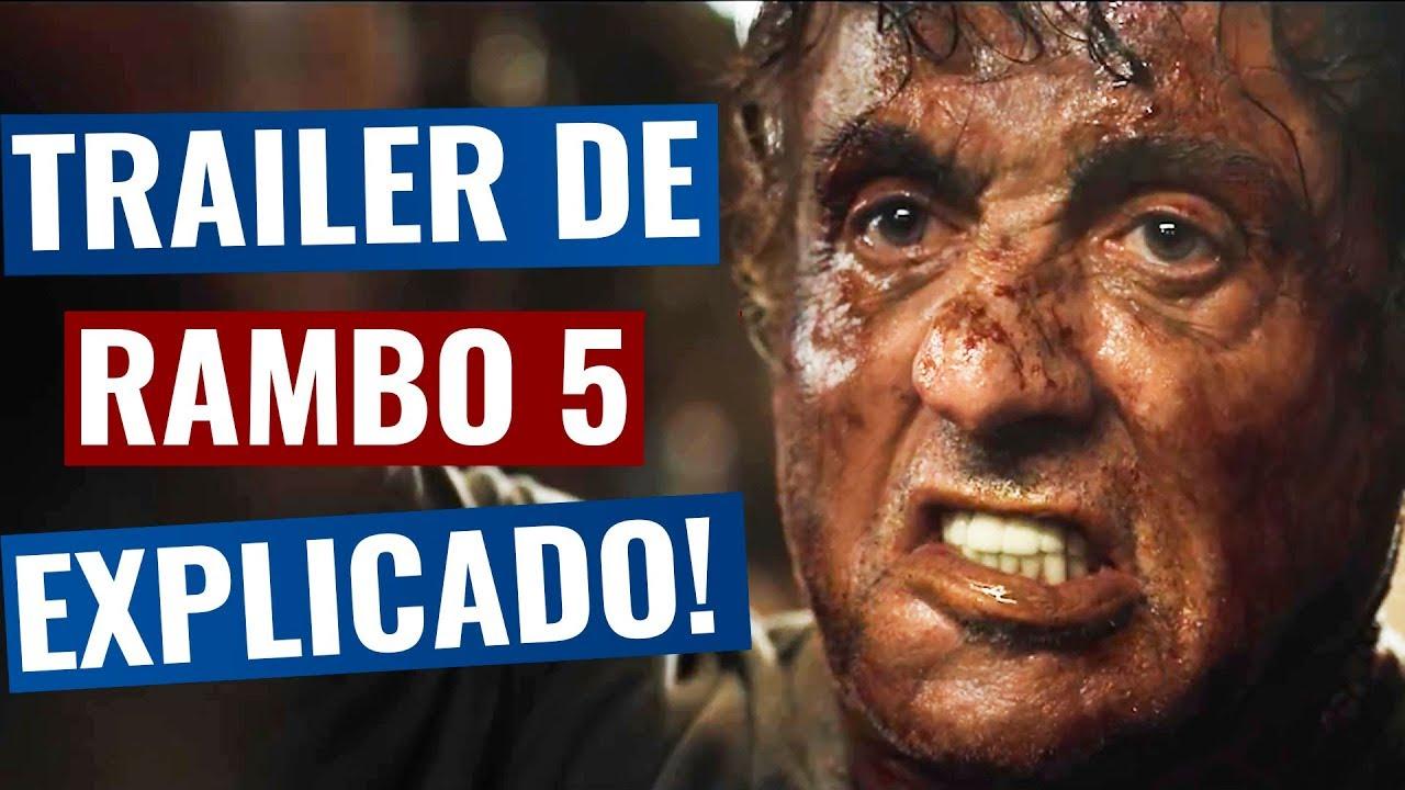 Trailer de Rambo 5 EXPLICADO - Análise Completa !