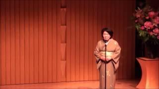 日本国風流詩歌吟詠国陽会60周年記念大会における構成吟です.