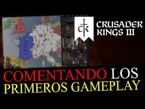Comentando en ESPAÑOL los PRIMEROS GAMEPLAY de CRUSADER KINGS 3
