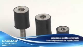 ANTIV35\ANTIV40\ANTIV45 -- Stainless steel & rubber joints for load cells - LAUMAS