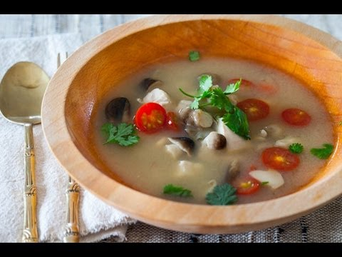 Thai Hot And Sour Chicken Soup Recipe