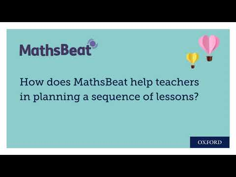 MathsBeat And The Ofsted Inspection Framework: Sequencing Lessons
