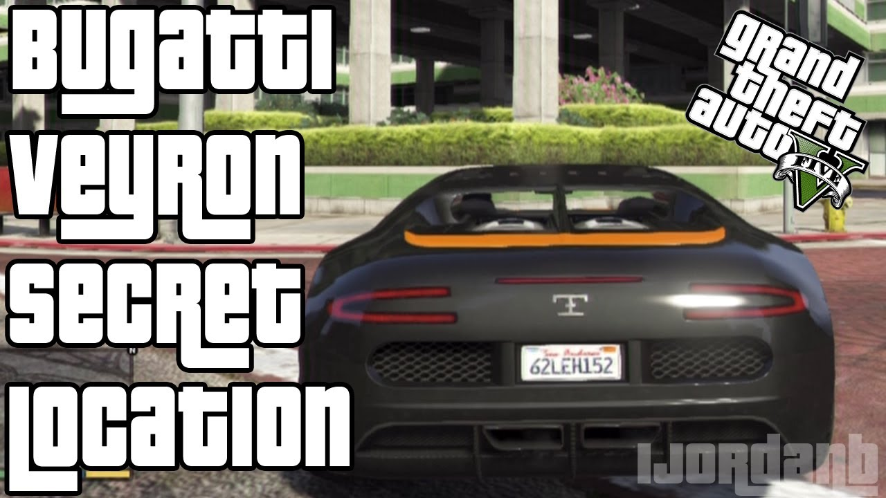 gta 5 bugatti veyron secret location how to get a. Black Bedroom Furniture Sets. Home Design Ideas