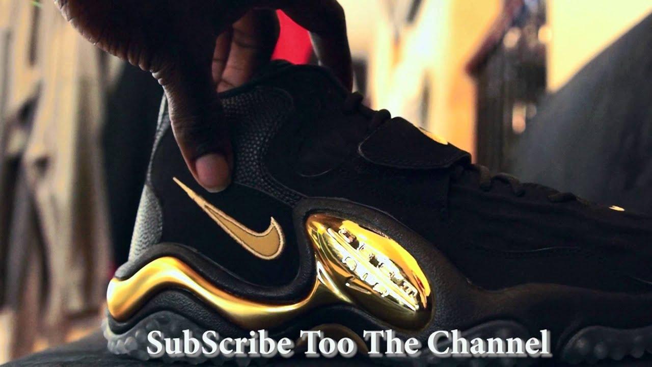 c377653808a7 Nike Air Zoom Turf Jet  97 Black Metallic Gold - YouTube