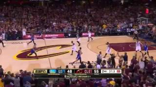 Stephen Curry 38 points vs Cavaliers in Finals G4 (10/06/2015)