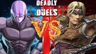 Hit VS Simon Belmont (Dragon Ball VS Castlevania) | Deadly Duels