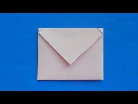 ОРИГАМИ КОНВЕРТ ДЛЯ ЛД, как сделать оригами конверт для личного дневника, Origami Envelope