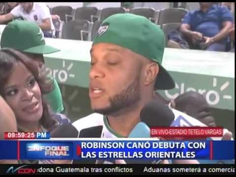 Robinson Canó debuta con las Estrellas Orientales