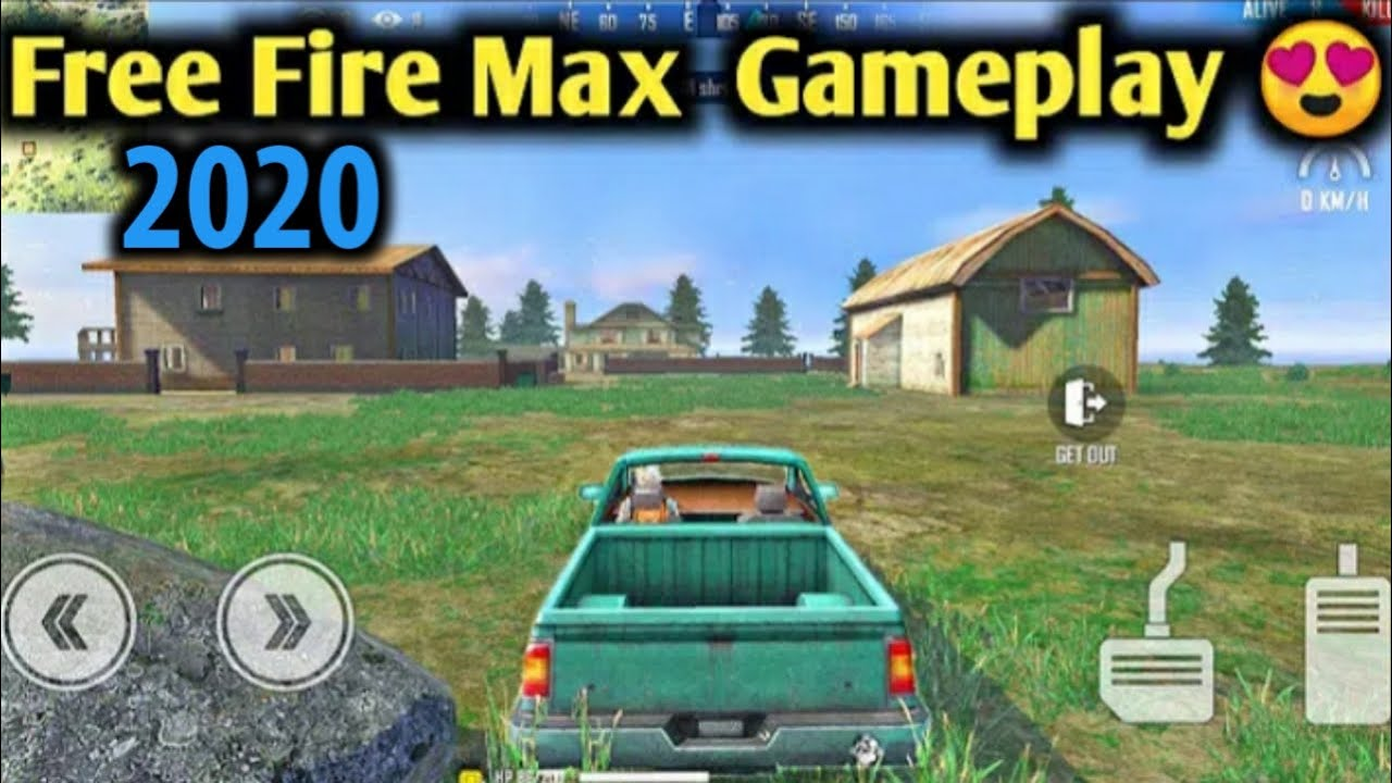 Free Fire Max Gameplay Max Graphics || New Graphics, New Guns Sound || Safe Army