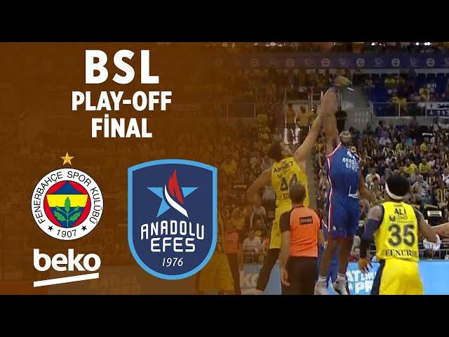 BSL Play-Off Final 4. Maç Özeti | Fenerbahçe Beko 82-73 Anadolu Efes