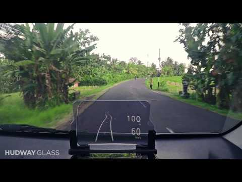 HUDWAY Glass — Head-Up Display (HUD) in any car