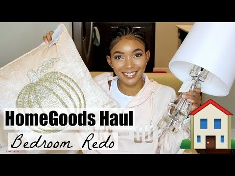 HOMEGOODS HAUL |  NEW ROOM DECOR  2018  | Brittany Daniel