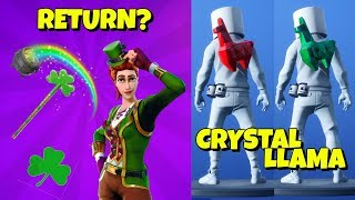 Sgt. Green Clover RETURN? - FREE CRYSTAL LLAMA In-Game Fortnite