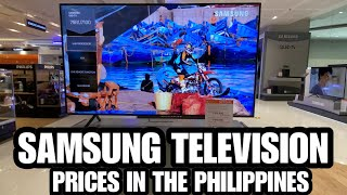 SAMSUNG TELEVISION PRICES IN THE PHILIPPINES - JUNE 2020   SM APPLIANCE