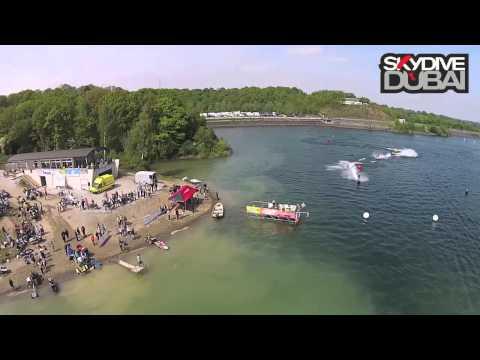 SkyDive Dubai Belgium 2014 - European Jet Ski Championship