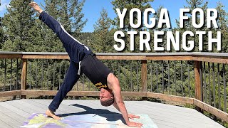 30 Min Yoga for Strength and Balance - Sean Vigue Fitness