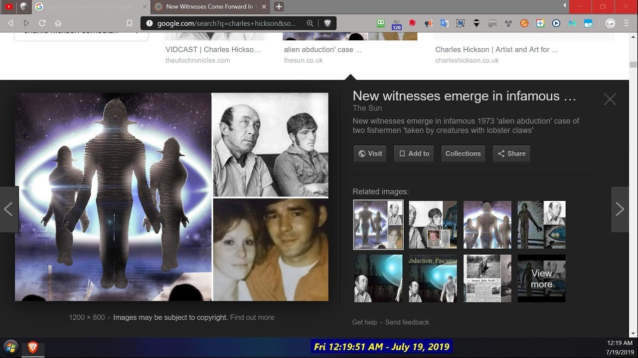 Pascagoula UFO New Witnesses + MS Sheriff, Fred Diamond and Dr Harder with  Charles Hickson 1973