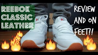 Reebok Classic White Leather Gum Review