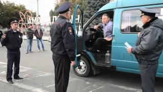Рейд ГИБДД по выявлению нарушений связанных с установкой газовых баллонов на автотранспорт