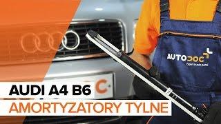 Instrukcja napraw Audi A4 B8 Sedan