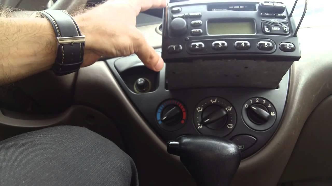 C 243 Mo Cambiar El Stereo De Tu Ford Focus En 3 Minutos