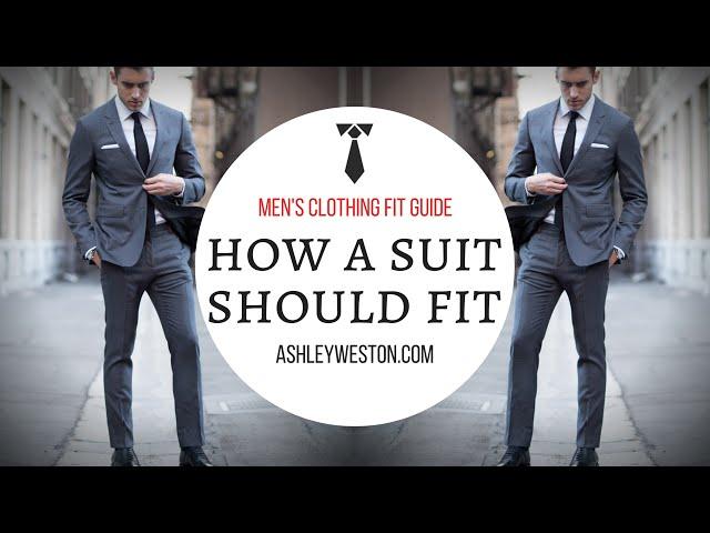 How Should A Suit Fit? , Men\u0027s Clothing Fit Guide