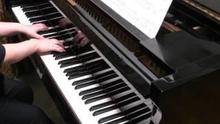 ピアノソロ用にアレンジしました。転調なし。YouTube Editionサイズ。 ...