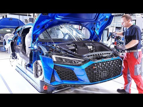 Audi R8 Production In Neckarsulm