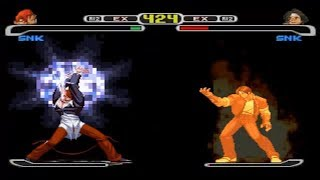 [TAS] Kyo VS Iori (Capcom VS SNK)