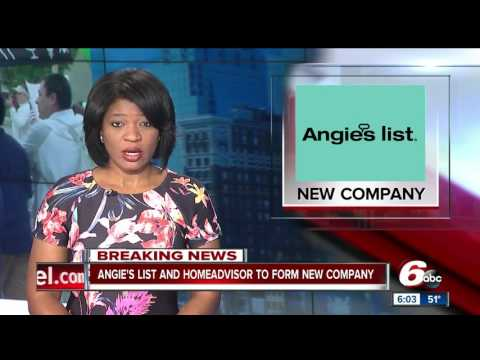 Angie's List, HomeAdvisor to merge into new company
