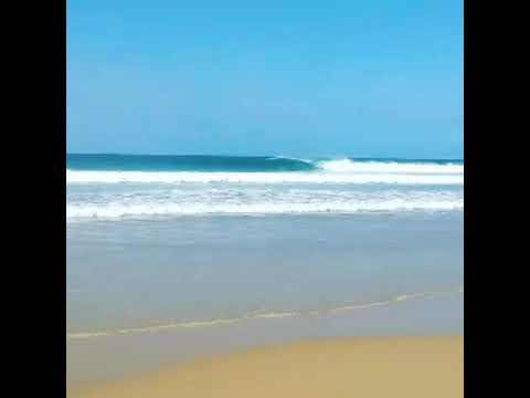 Surfing Mozambique's perfect waves. Still almost a secret!