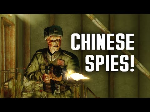 Chinese Spies! The Full Story Of Mama Dolce's And Broadcast Tower KT8 - Fallout 3 Lore